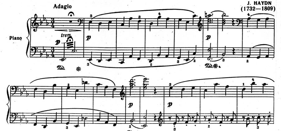 Вступление к первой части симфонии №103