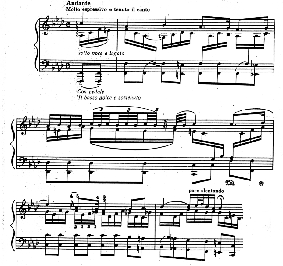 хоральная прелюдия f-moll
