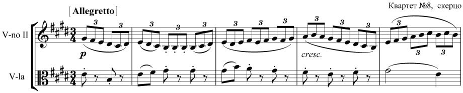 op. 59 № 2 скерцо